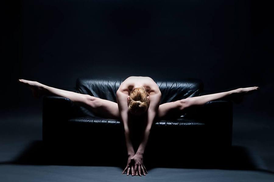 Every Year, I Bend More. Where Will it End? / Photography by Peter v. Gelderen, Model Joceline Brooke-Hamilton / Uploaded 3rd December 2014 @ 08:50 PM
