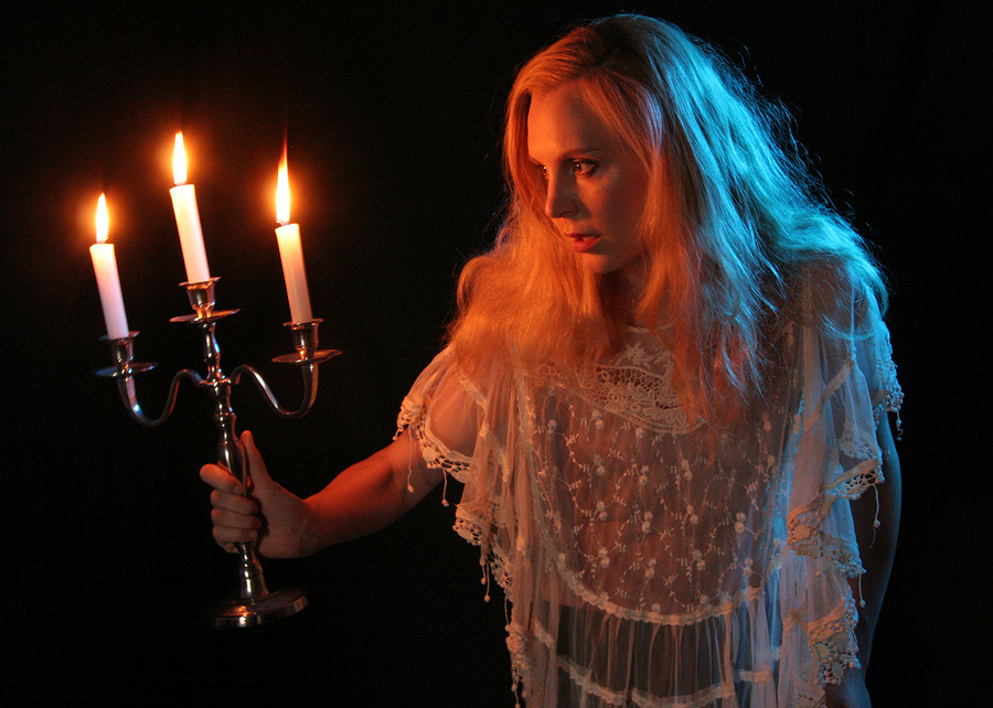 Lurking In The Shadows / Photography by John Forest, Model Joceline Brooke-Hamilton / Uploaded 4th July 2015 @ 08:40 AM