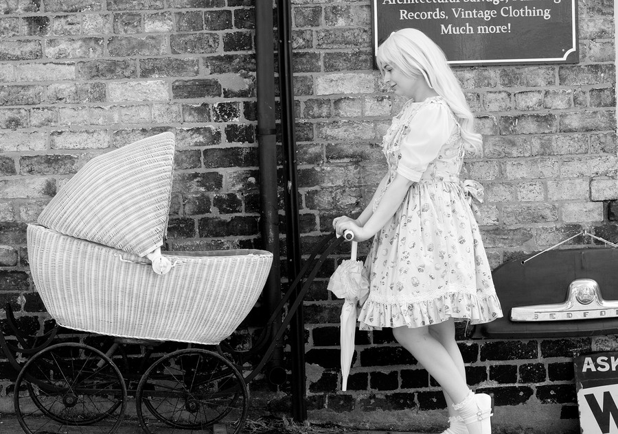 Lolita With A Pram / Photography by Fenland Photographic / Uploaded 14th August 2018 @ 09:32 PM