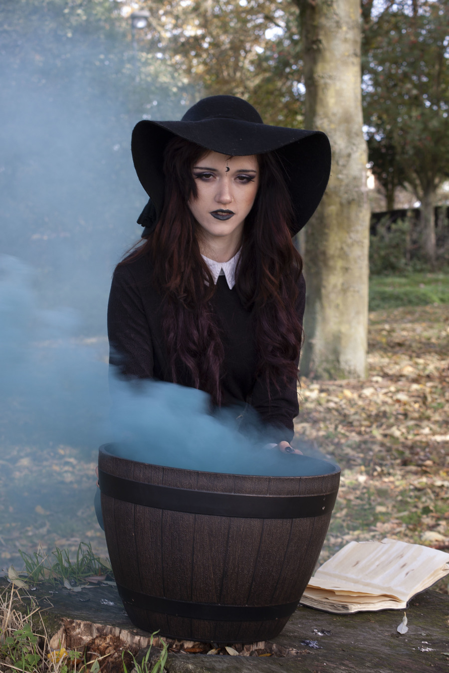 The Witches Coudron / Photography by Fenland Photographic, Model Megan Annie / Uploaded 13th October 2018 @ 01:05 AM