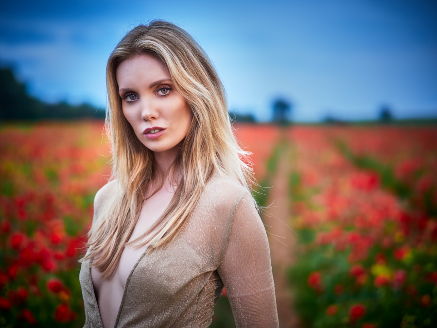 Poppy field portrait / Photography by John Simpson, Post processing by John Simpson, Taken at Alastair Currill Photography / Uploaded 24th June 2019 @ 10:43 AM