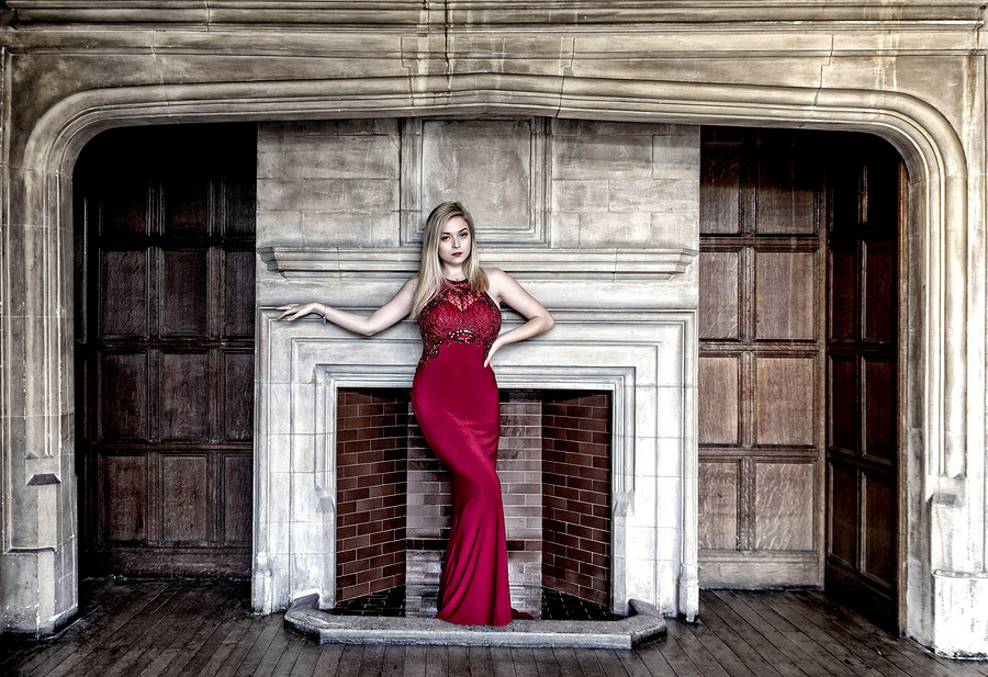 Red Dress / Photography by NikGuy 📷, Model Sophie Parr / Uploaded 28th October 2018 @ 06:10 PM