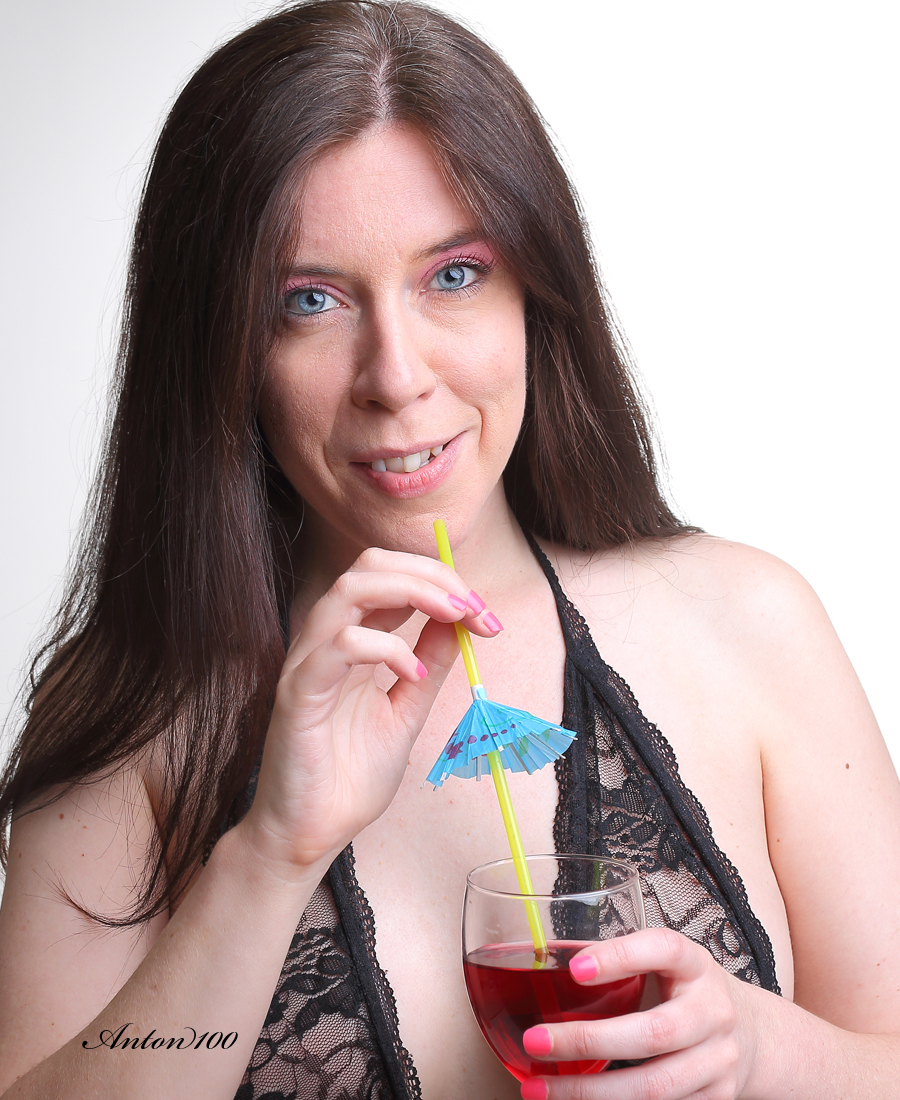 Cocktail Time / Photography by Anton100 📷, Model Miss Diamond Sparkle 💕☯ / Uploaded 14th June 2018 @ 11:13 AM