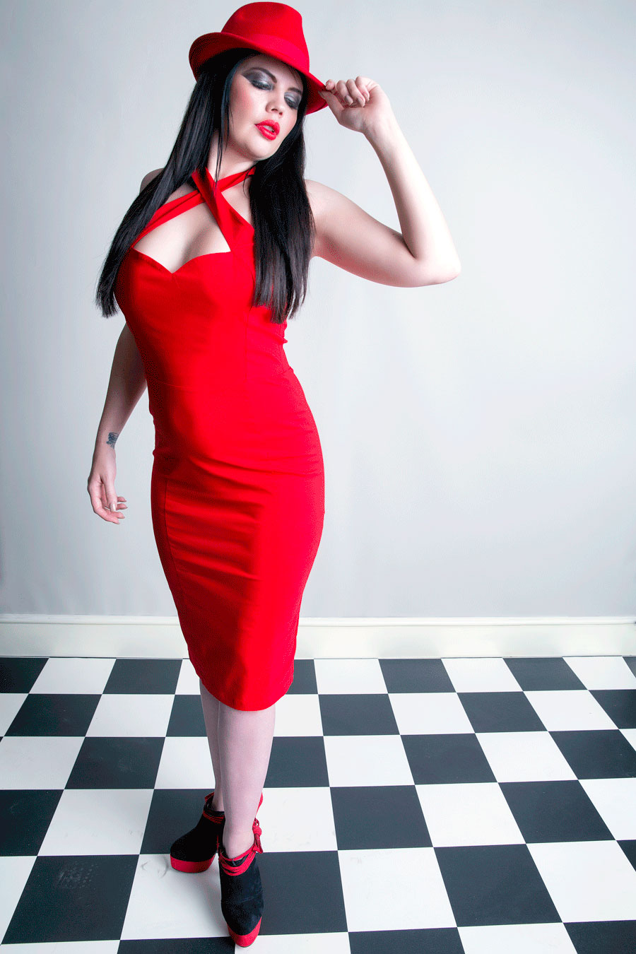 If you want to be noticed....wear red / Photography by Bryan Watkins, Makeup by Beauty Classics, Post processing by Bryan Watkins, Taken at Bryan Watkins / Uploaded 25th June 2016 @ 11:55 AM