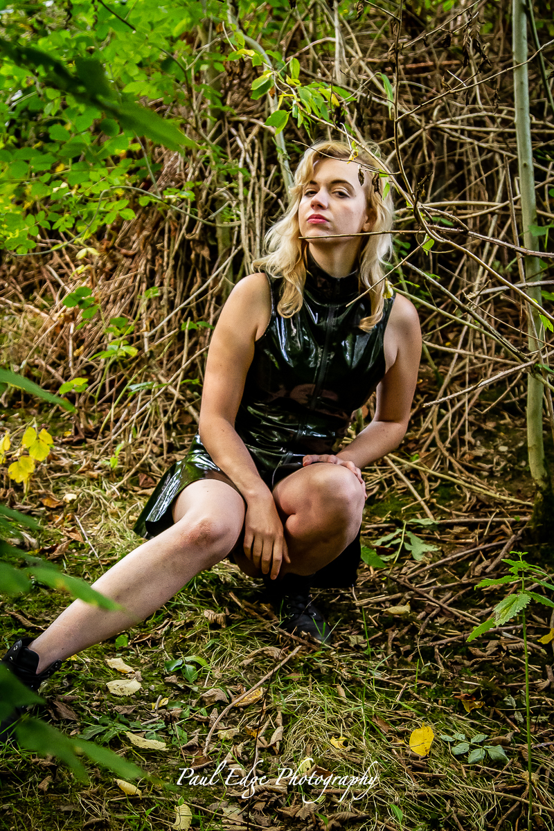 Woodland wild / Photography by Paul edge, Model Starzahararose / Uploaded 27th September 2020 @ 10:33 AM
