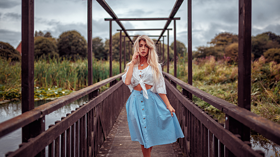 Alice in her wonderland / Photography by Ollie Gibbs, Model Tillie Feather / Uploaded 5th September 2018 @ 08:38 PM