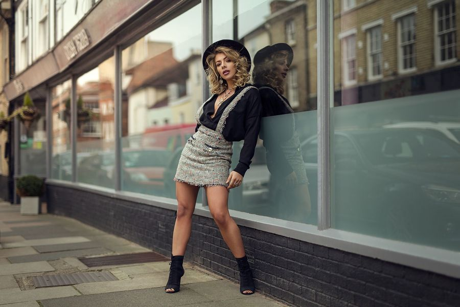 Fashion around Bury St Eds / Photography by Rob Rook, Model Tillie Feather, Makeup by Tillie Feather, Post processing by Rob Rook, Stylist Tillie Feather, Hair styling by Tillie Feather / Uploaded 2nd July 2019 @ 08:10 PM