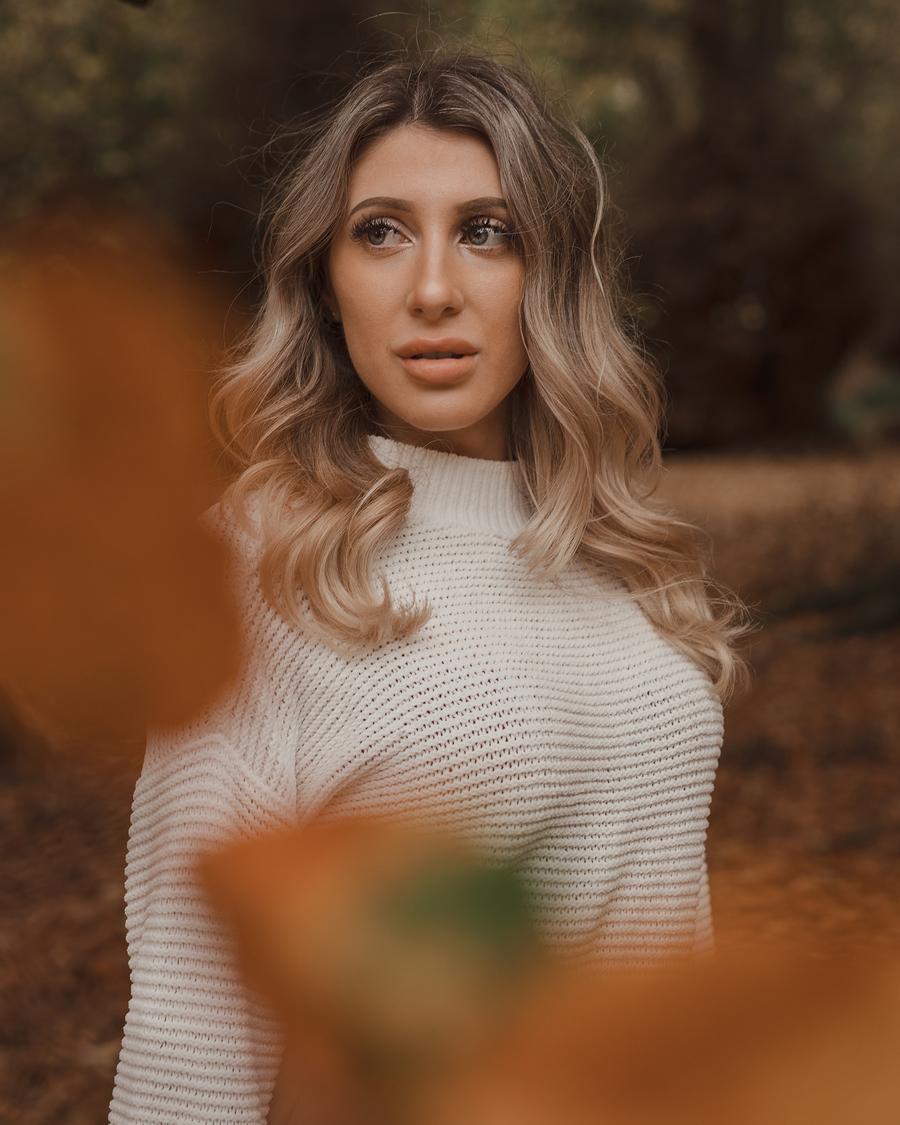 Through the leaves / Photography by Scott Davis, Model Lauren M / Uploaded 11th November 2020 @ 10:16 AM