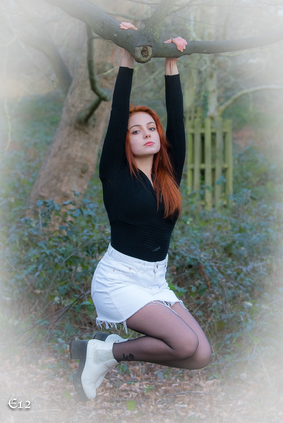 The Enchanted Garden / Photography by E12, Model Rosedame / Uploaded 22nd January 2021 @ 06:42 AM