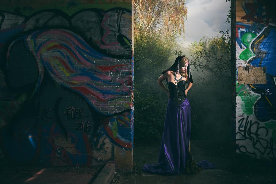 An Enchantress / Photography by lutonphotographer, Model Roksana1 / Uploaded 21st November 2016 @ 08:50 PM