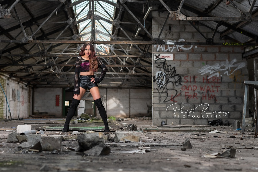 Edgy... / Photography by Phil Reay Photography, Model Jen_981, Makeup by Jen_981, Hair styling by Jen_981 / Uploaded 2nd May 2018 @ 04:57 PM