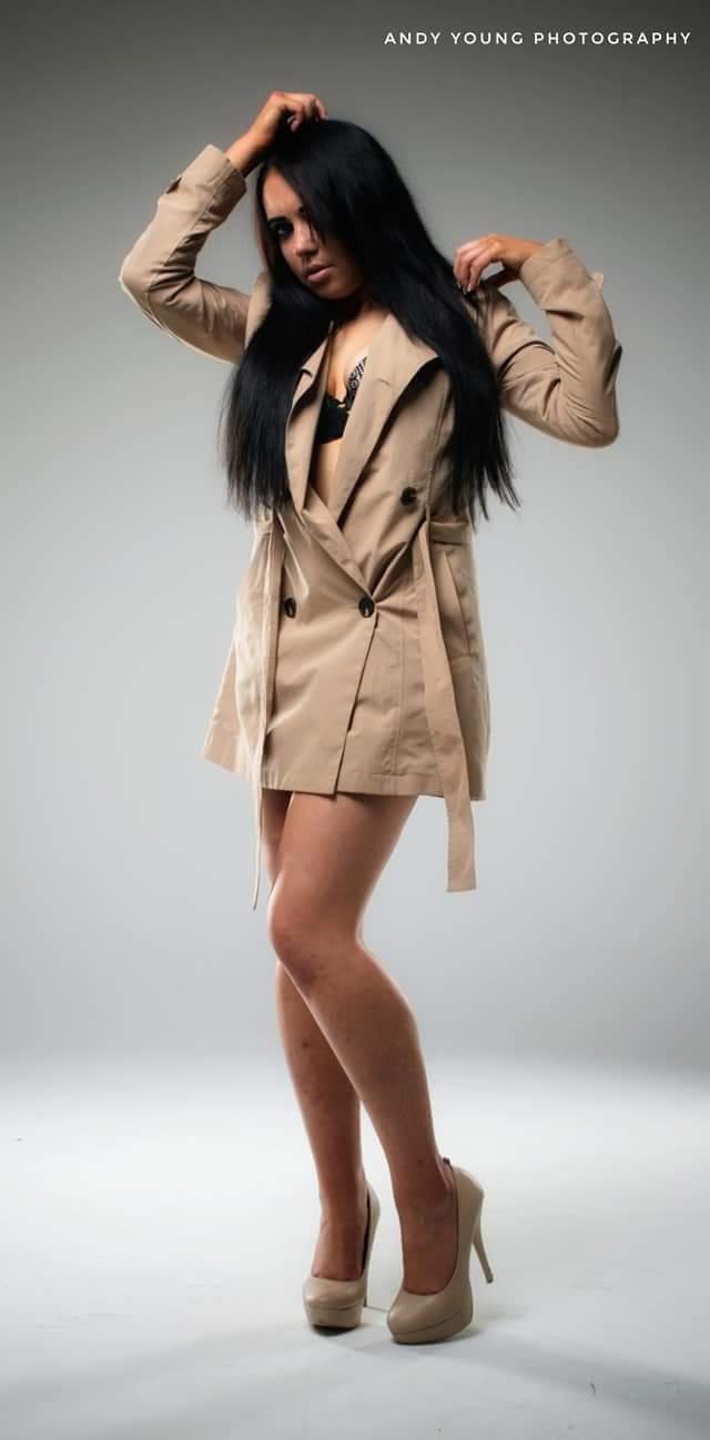 Raincoat fashion / Model Jen_981, Makeup by Jen_981, Hair styling by Jen_981 / Uploaded 30th August 2018 @ 07:34 PM