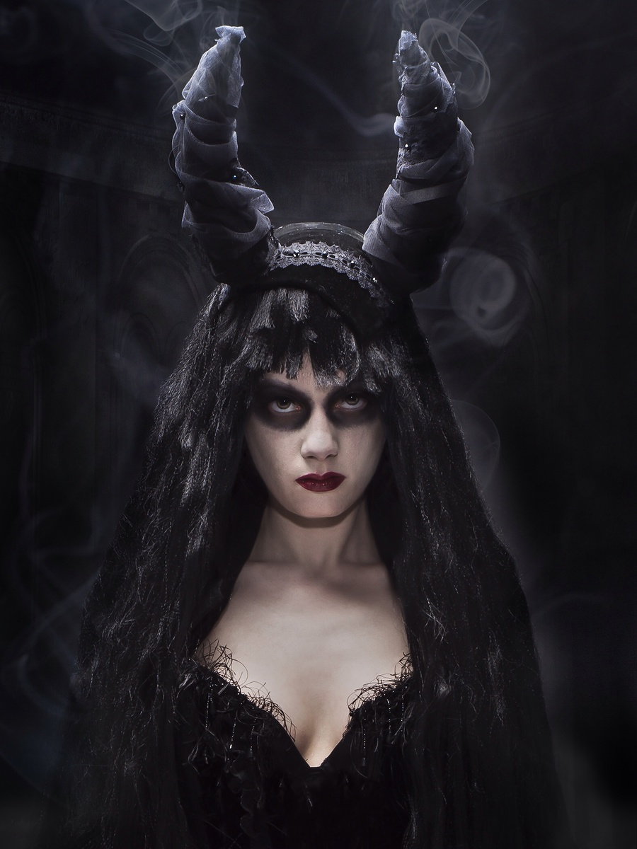 Maleficent / Photography by Norbert Pietraszek, Model Sugar&Spice, Post processing by Norbert Pietraszek, Designer Lyndseyboutique / Uploaded 23rd May 2014 @ 10:33 PM