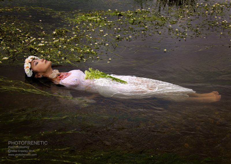 Ophelia / Photography by Photofrenetic, Model Aya, Post processing by Photofrenetic / Uploaded 9th June 2016 @ 04:02 PM