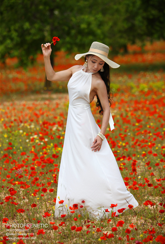 Posing in the Poppies / Photography by Photofrenetic, Post processing by Photofrenetic / Uploaded 19th June 2018 @ 11:46 AM