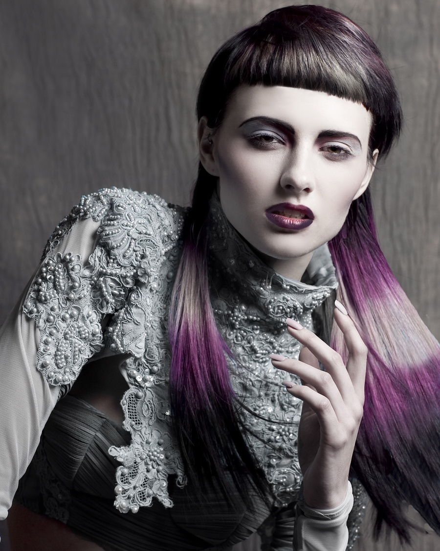 The Hair Bank Brittish Hairdressing Awards / Model Jessica Wilcock / Uploaded 10th November 2014 @ 07:42 PM