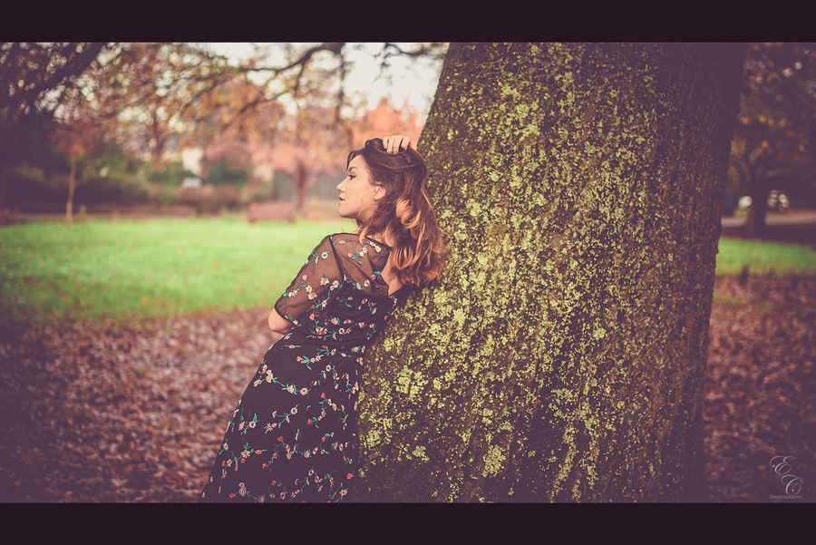 Like the trees, let your dead leaves fall... / Photography by ECPhotography, Model ModelMaya / Uploaded 19th December 2017 @ 12:37 PM