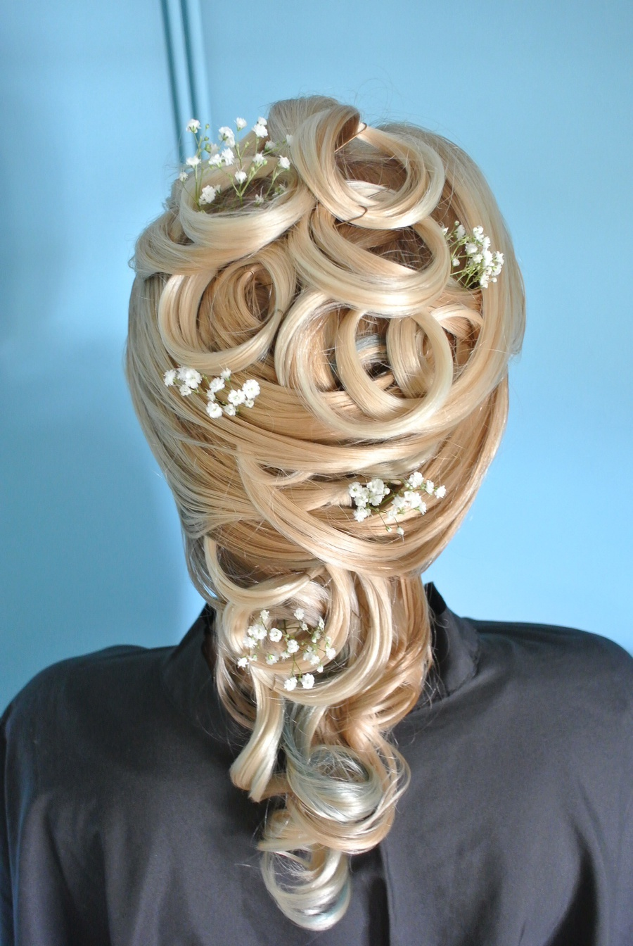 Bridal Idea  / Hair styling by JennyWest_HairandMua / Uploaded 9th January 2015 @ 10:29 AM