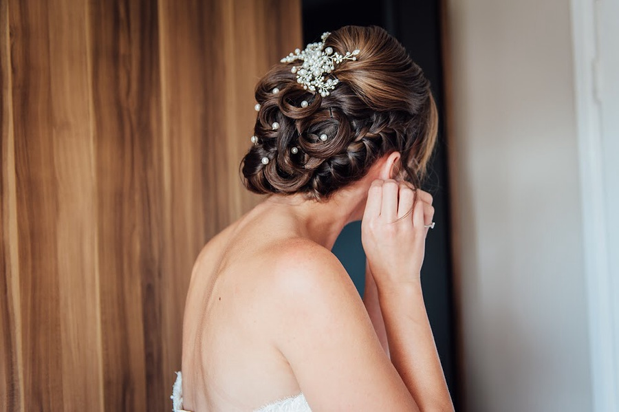 Bridal Hair  / Hair styling by JennyWest_HairandMua / Uploaded 9th January 2015 @ 02:03 PM