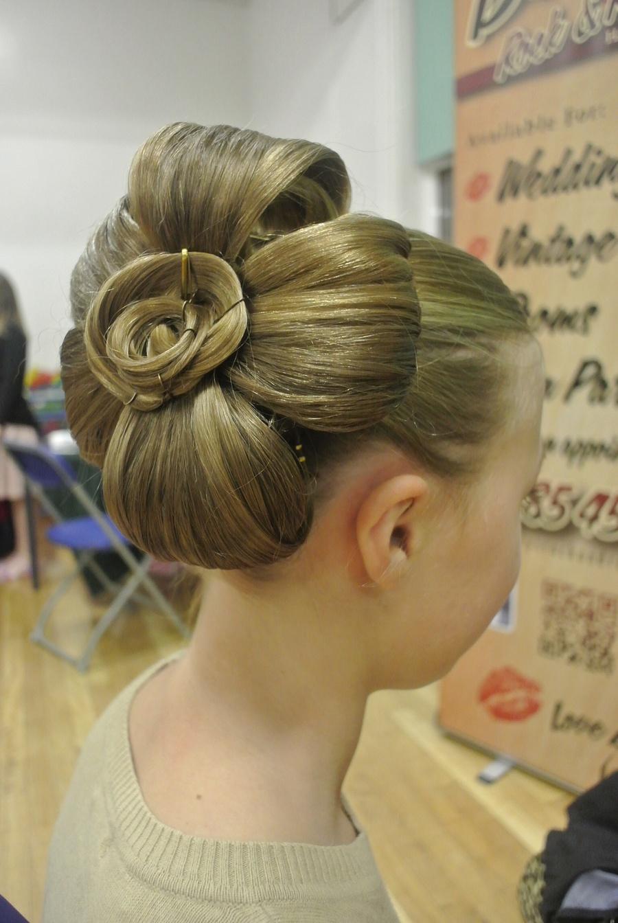 Flower Design / Hair styling by JennyWest_HairandMua / Uploaded 9th January 2015 @ 10:27 AM
