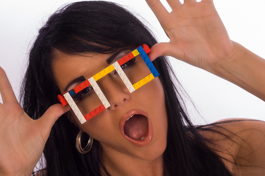 Lego glasses / Photography by SJT Photography, Model Raven Lee / Uploaded 9th June 2020 @ 09:08 PM