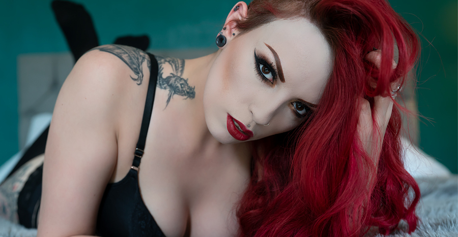 Dragon Tattoo / Photography by photofervor, Model Olivia Livewire / Uploaded 18th July 2019 @ 02:26 PM