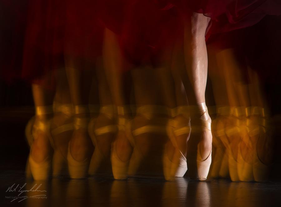 Alexa En Pointe / Photography by Neil Lynchehaun Photography, Model Alexa Hilton, Tutored by Andrew Appleton, Assisted by Andrew Appleton / Uploaded 13th January 2019 @ 06:47 PM