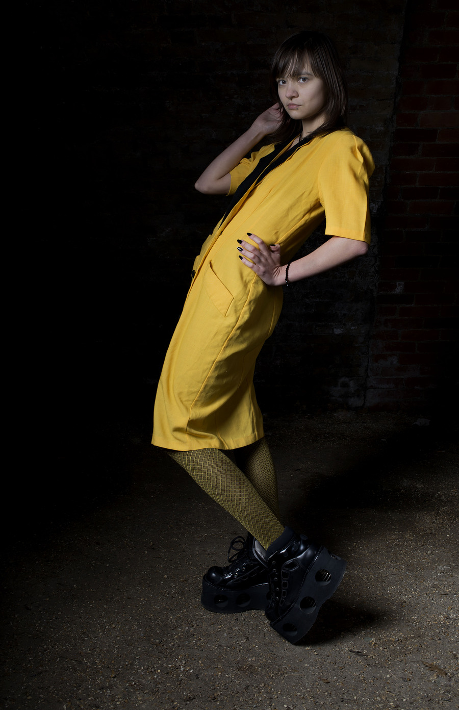 Yellow / Photography by Scott at Evergreen, Model Olga Koles / Uploaded 29th January 2015 @ 10:36 PM