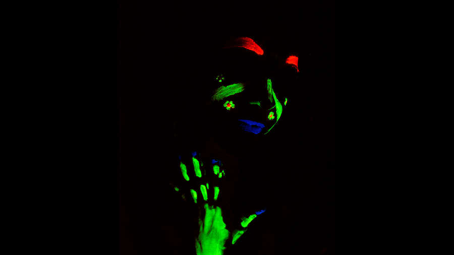 Neon Body Paint - Test 1 /  / Uploaded 20th December 2014 @ 10:27 AM