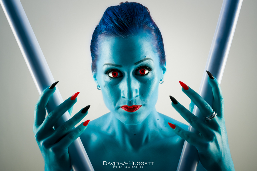 Blue Zsu / Photography by David Huggett, Post processing by David Huggett / Uploaded 4th July 2016 @ 03:39 PM