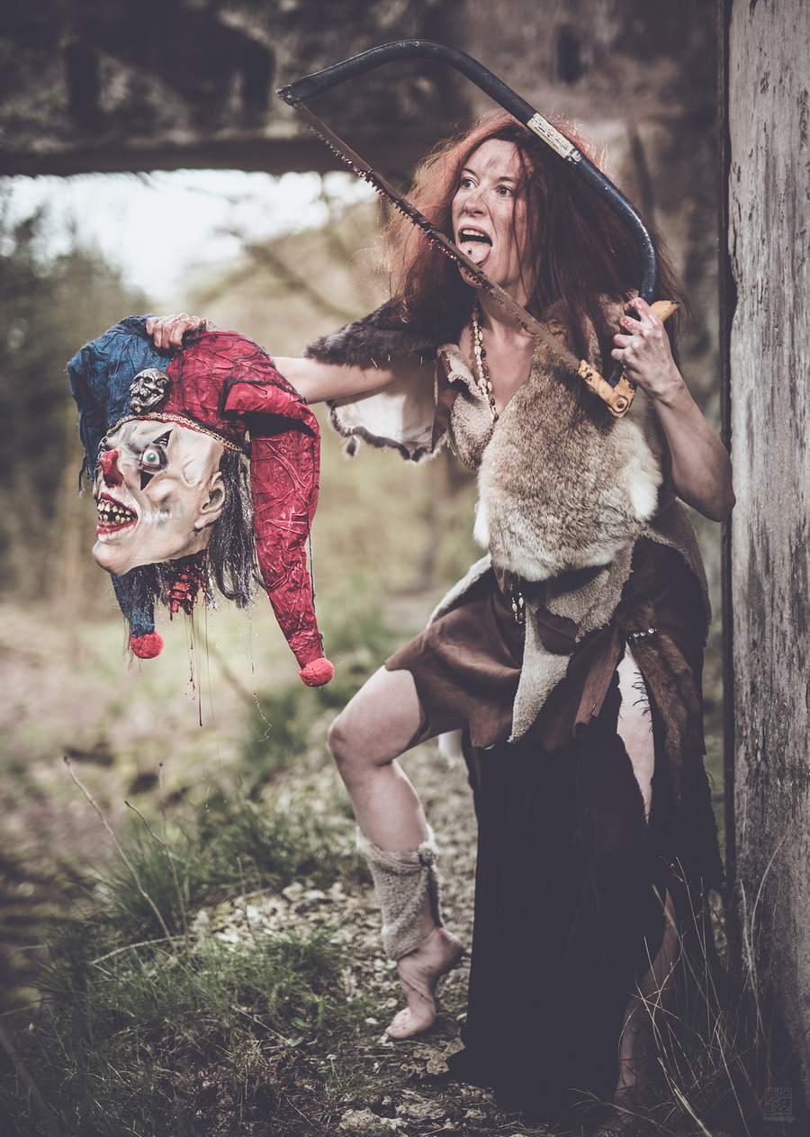 Them clowns / Photography by rimфsky°, Model IrisFerret / Uploaded 19th October 2019 @ 11:29 AM