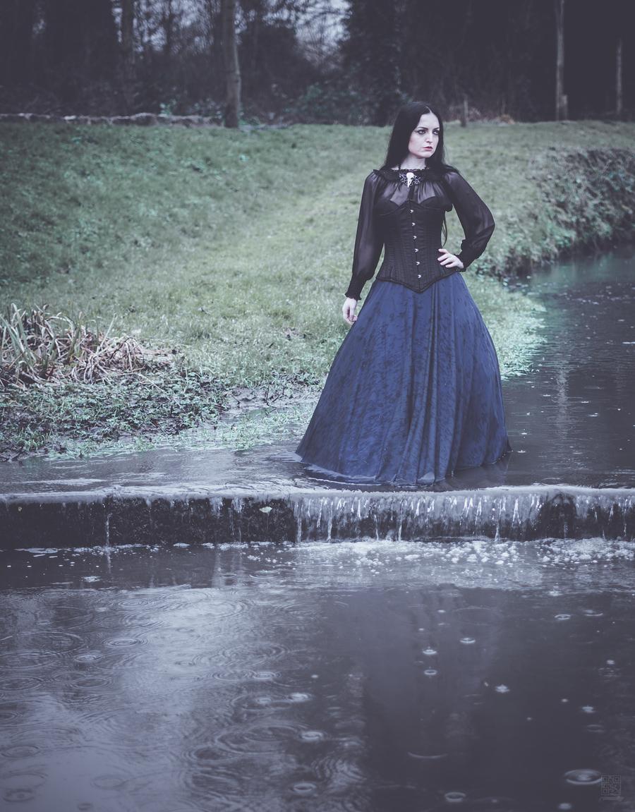 Her tears fell as rain / Photography by rimфsky°, Model Jezabelle Jynx / Uploaded 29th December 2019 @ 11:03 PM