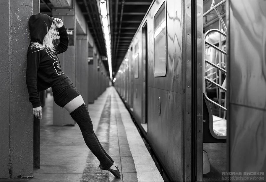 Urban Ballerina / Model Fanny / Uploaded 30th October 2017 @ 12:53 PM