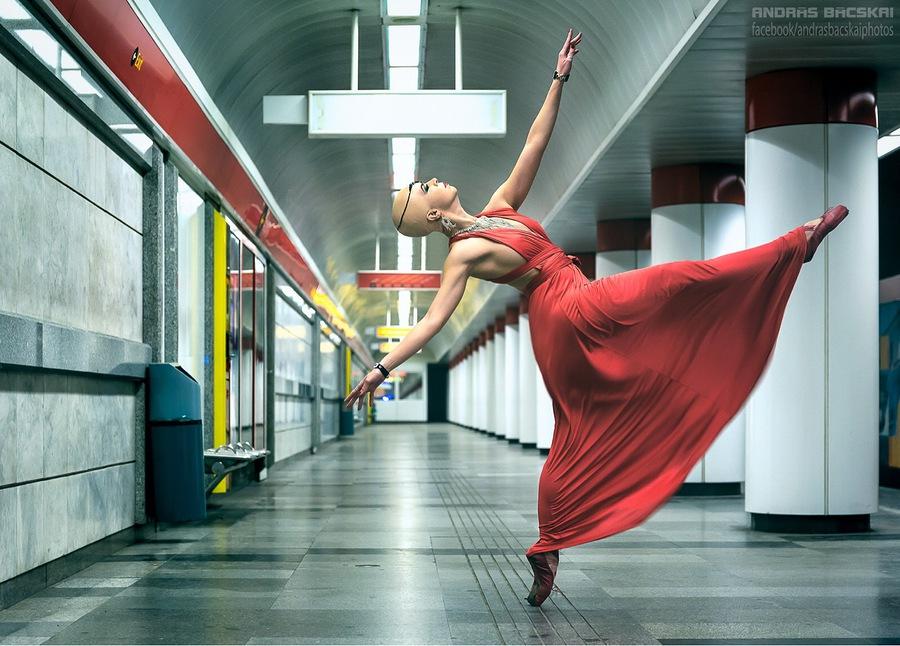 Urban Ballerina / Model Fanny / Uploaded 10th January 2018 @ 10:02 AM