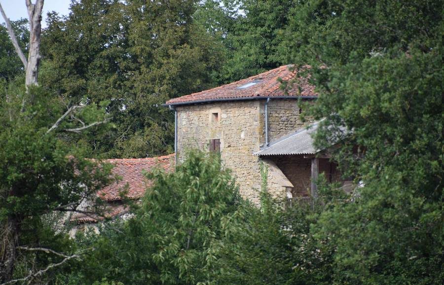 The back house and terrace with a telephoto lens from the 'main' road. / Photography by Independent / Uploaded 25th June 2018 @ 08:25 PM