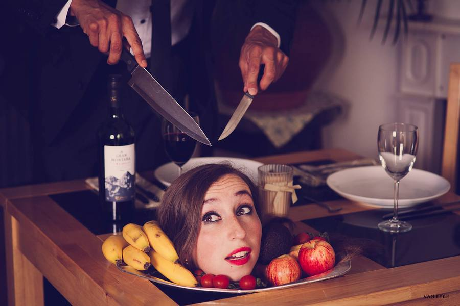 Dinner is served. / Photography by VanEyke, Model Emma Jayne / Uploaded 11th August 2015 @ 12:27 PM