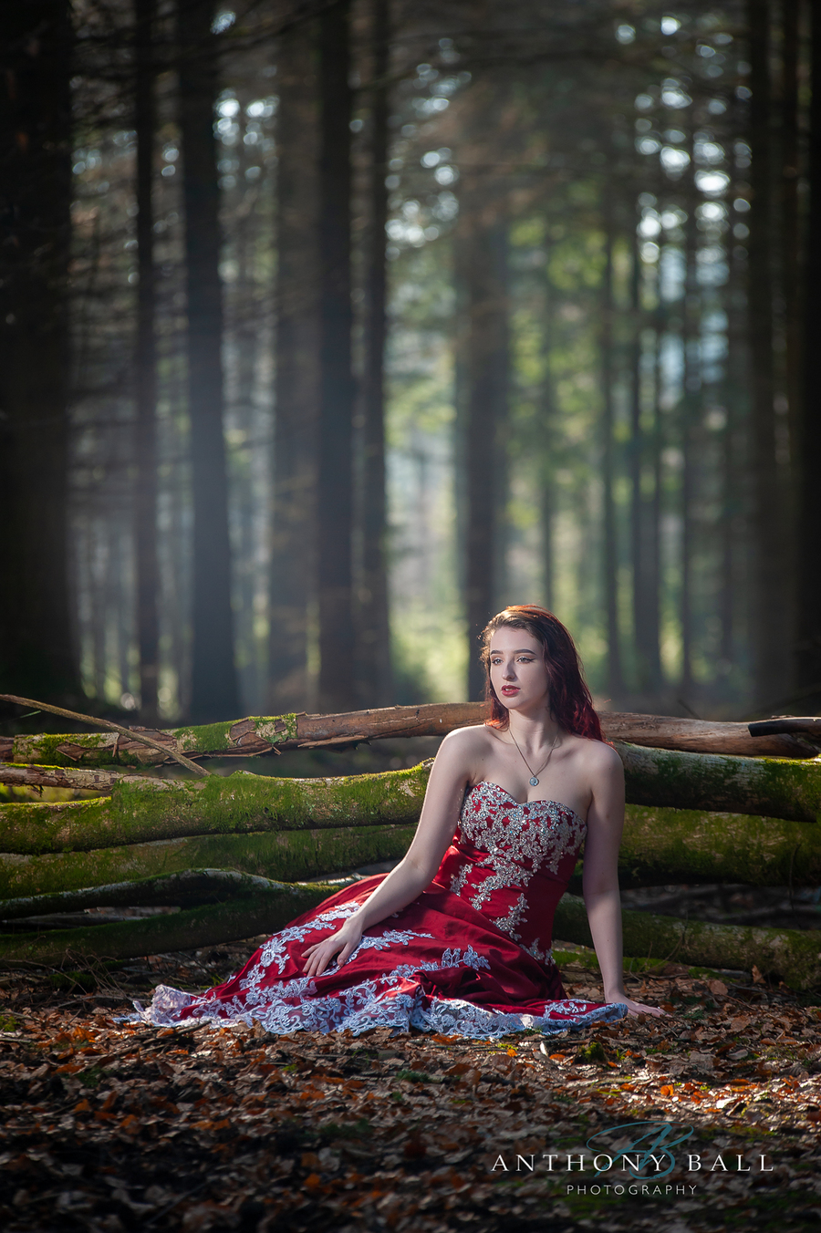 Forest Contemplation / Photography by Anthony Ball Photography, Model Claudia Sampford, Makeup by Claudia Sampford, Taken at Anthony Ball Photography / Uploaded 1st March 2019 @ 11:15 AM