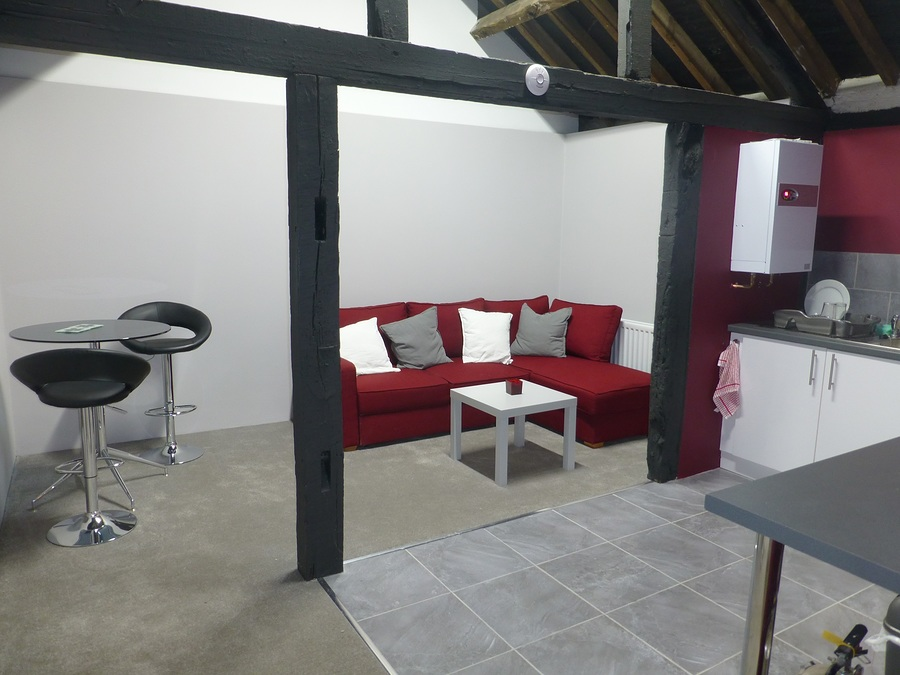 Reception area / Taken at The Coach House Studio / Uploaded 7th February 2015 @ 01:19 PM