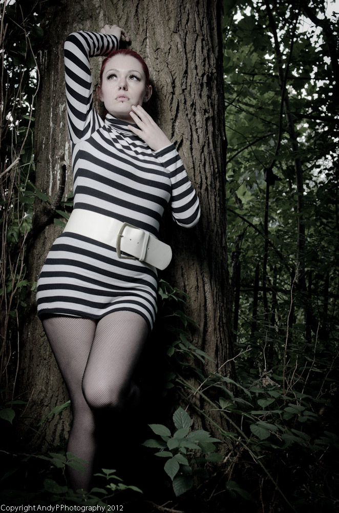 Ellie in the woods / Photography by AndyPPhotography / Uploaded 4th September 2012 @ 05:08 AM