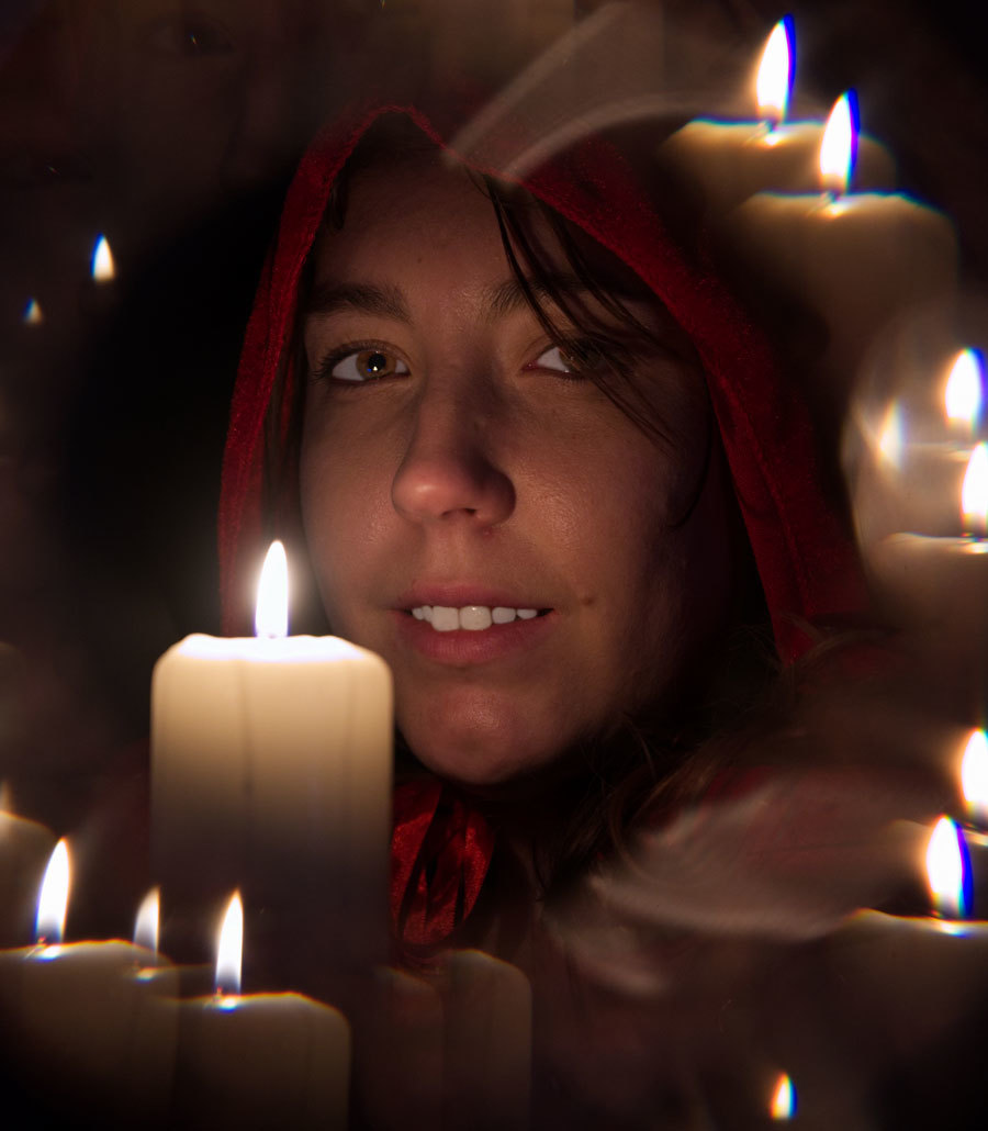 Playing with the candle / Photography by RMF, Model tazy / Uploaded 12th March 2021 @ 03:16 PM
