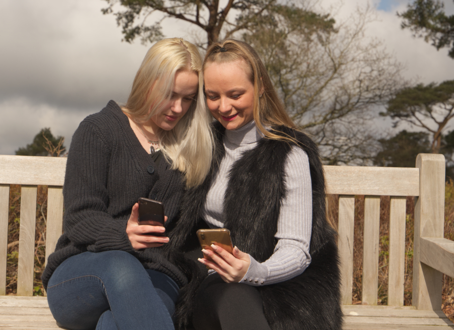 Friends Together / Photography by RMF, Models Bethanyt15o, Models OliviaD / Uploaded 22nd April 2021 @ 12:16 PM