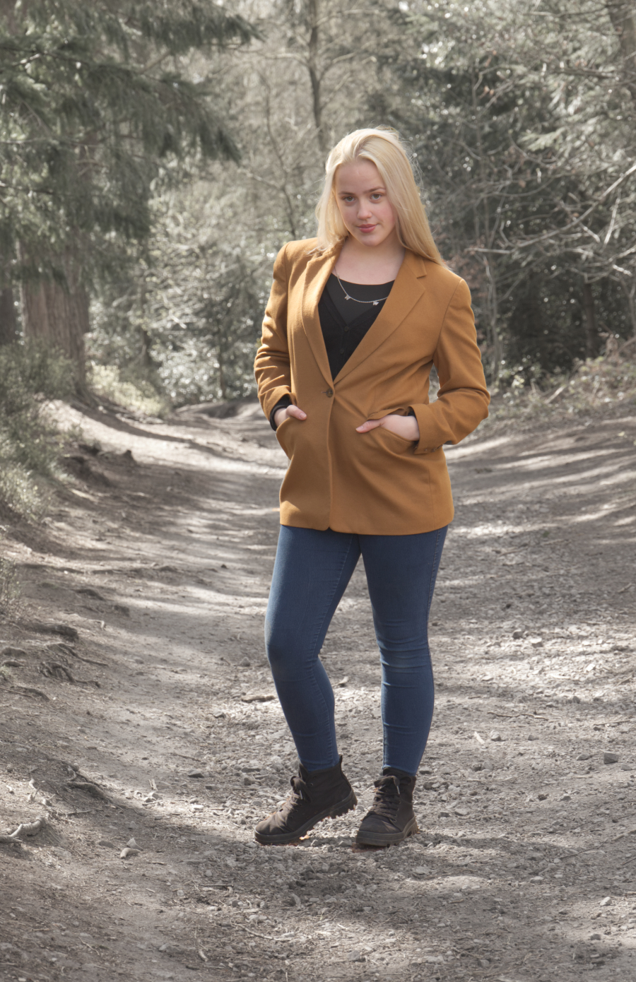 In the woods / Photography by RMF, Model OliviaD / Uploaded 28th April 2021 @ 03:44 PM
