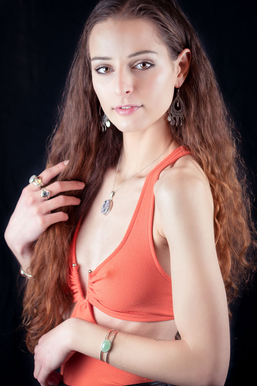 That orange top / Photography by FGImage, Model Cara Jane / Uploaded 7th January 2018 @ 11:35 AM