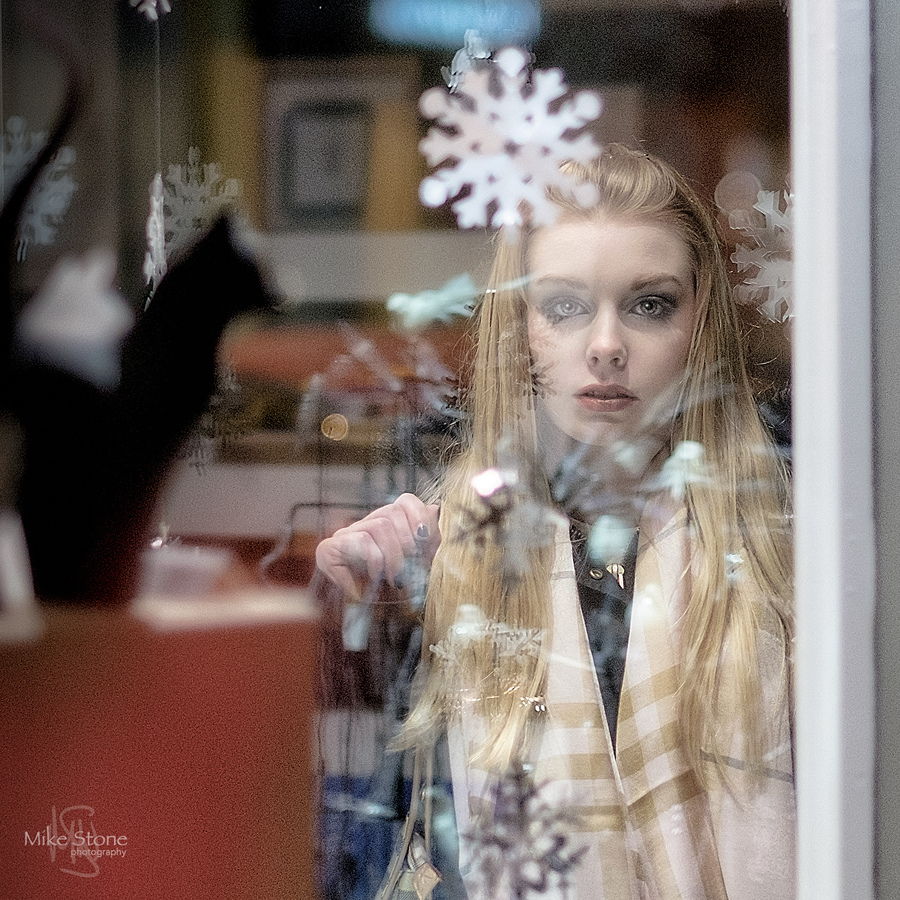 Trapped in Christmas / Photography by Mike Stone, Model Charliee Rose., Post processing by Mike Stone / Uploaded 14th December 2016 @ 02:11 PM
