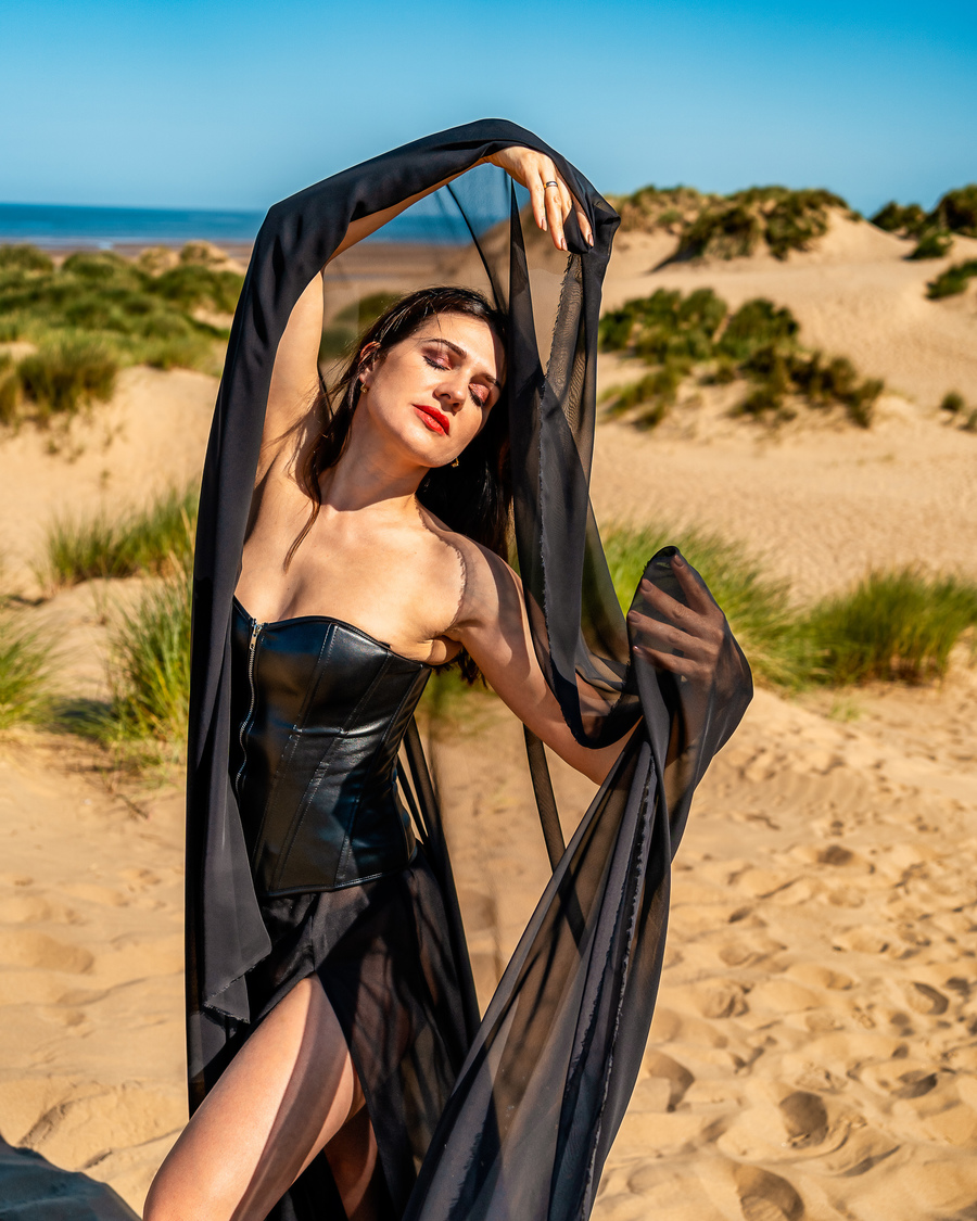 Beach Fun / Photography by Philip Leighton photography, Model TaniaS, Makeup by TaniaS, Post processing by Philip Leighton photography, Stylist TaniaS, Taken at Philip Leighton photography / Uploaded 12th August 2021 @ 07:39 PM