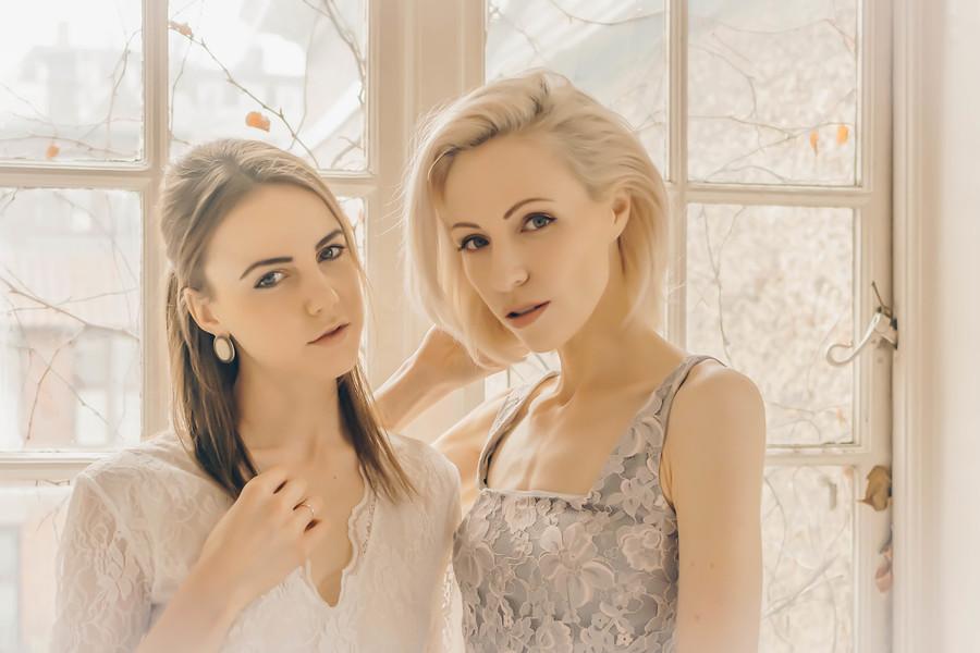 Ice queens. / Photography by B17fan, Model Zara Watson, Post processing by B17fan, Stylist Zara Watson / Uploaded 2nd April 2021 @ 08:04 PM