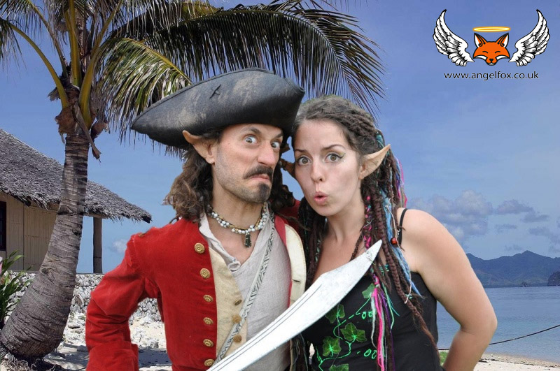 The Pirate and the Pixie / Photography by Angel Fox Photography / Uploaded 24th February 2015 @ 09:57 PM