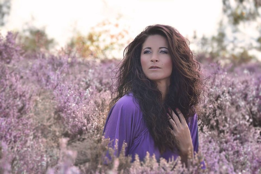 Purple Mist / Photography by L.D Photography, Model Liz Hunt / Uploaded 24th September 2014 @ 07:56 PM
