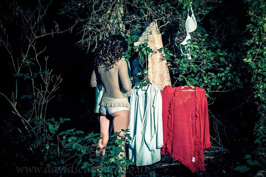 Wardrobe in the woods / Photography by Ubique, Model Liz Hunt / Uploaded 28th August 2013 @ 09:36 PM