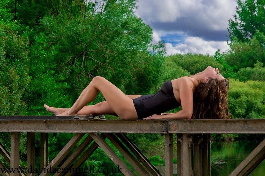 Bridge Bathing / Photography by Ubique, Model Liz Hunt / Uploaded 21st August 2013 @ 03:52 PM